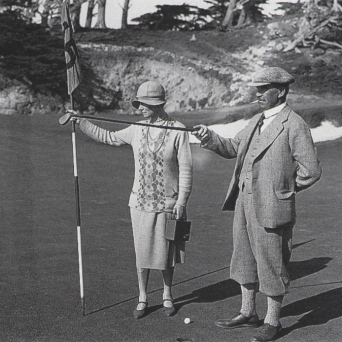 Alister MacKenzie 15th hole Cypress Point