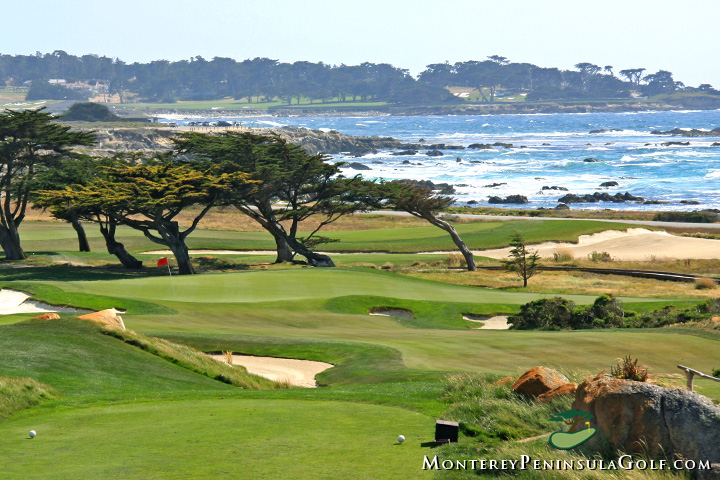 Monterey Peninsula Country Club - Shores Course, 11th hole green