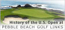 US Open History at Pebble Beach Golf Links